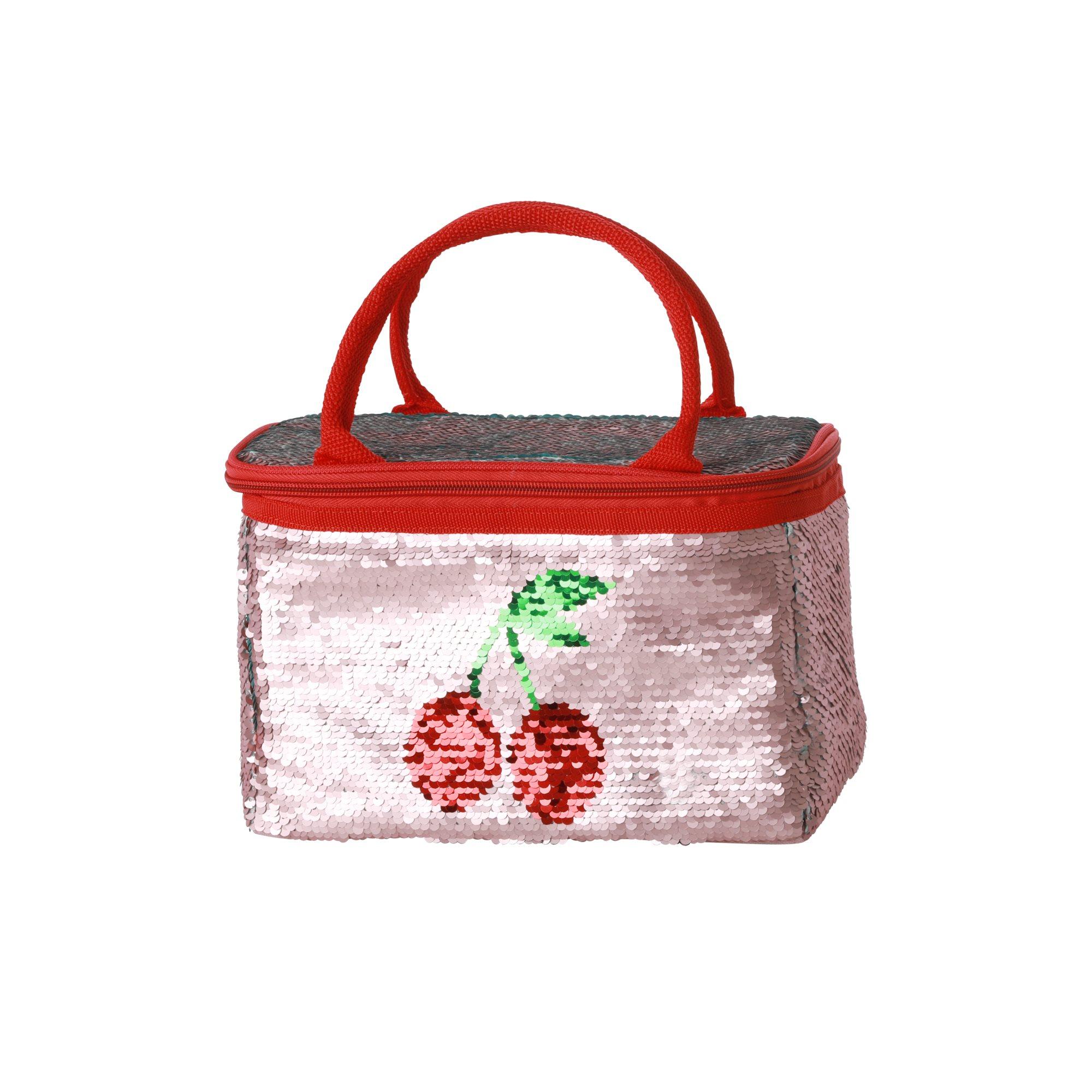 Rice - Sequin Cooler Bag 4 L w. Cherry