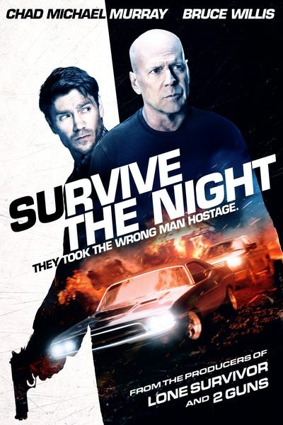 Survive The Night- Blu ray