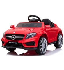 Azeno - Elbil - Mercedes AMG GLA45 - Rød