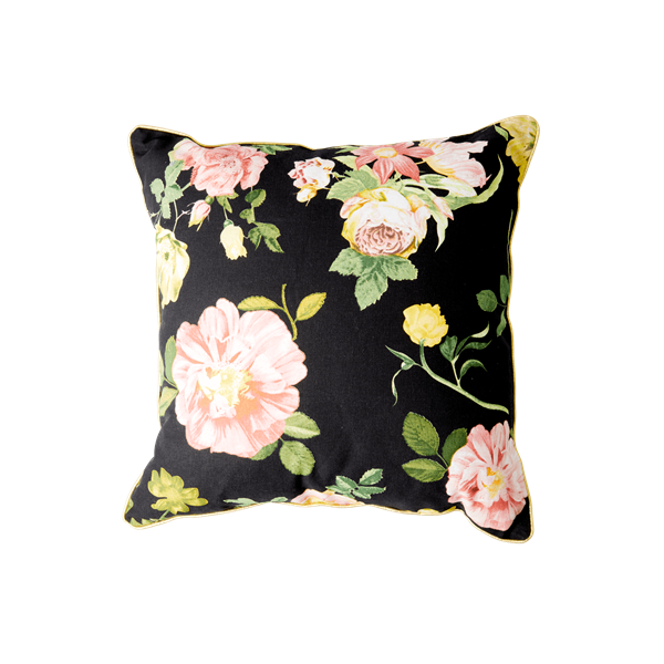 Rice - Cushion 40 x 40 cm - Dark Rose Print