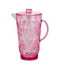 Rice - Acrylic Jug in Pink - Large