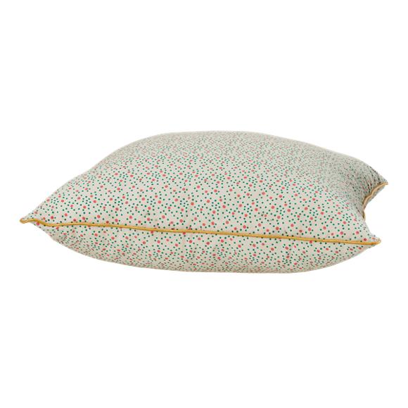 Rice - Cushion w. Dots Print - 40 x 40 cm