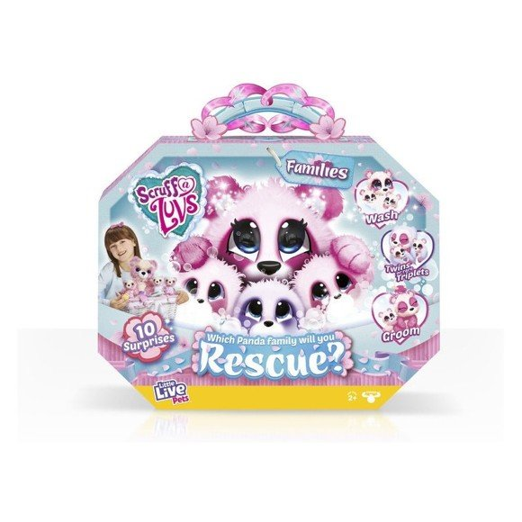Scruff-a-luvs - Panda Familie
