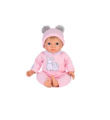 Tiny Treasures - Doll Pink Pom Pom w. Blond Hair (30168)