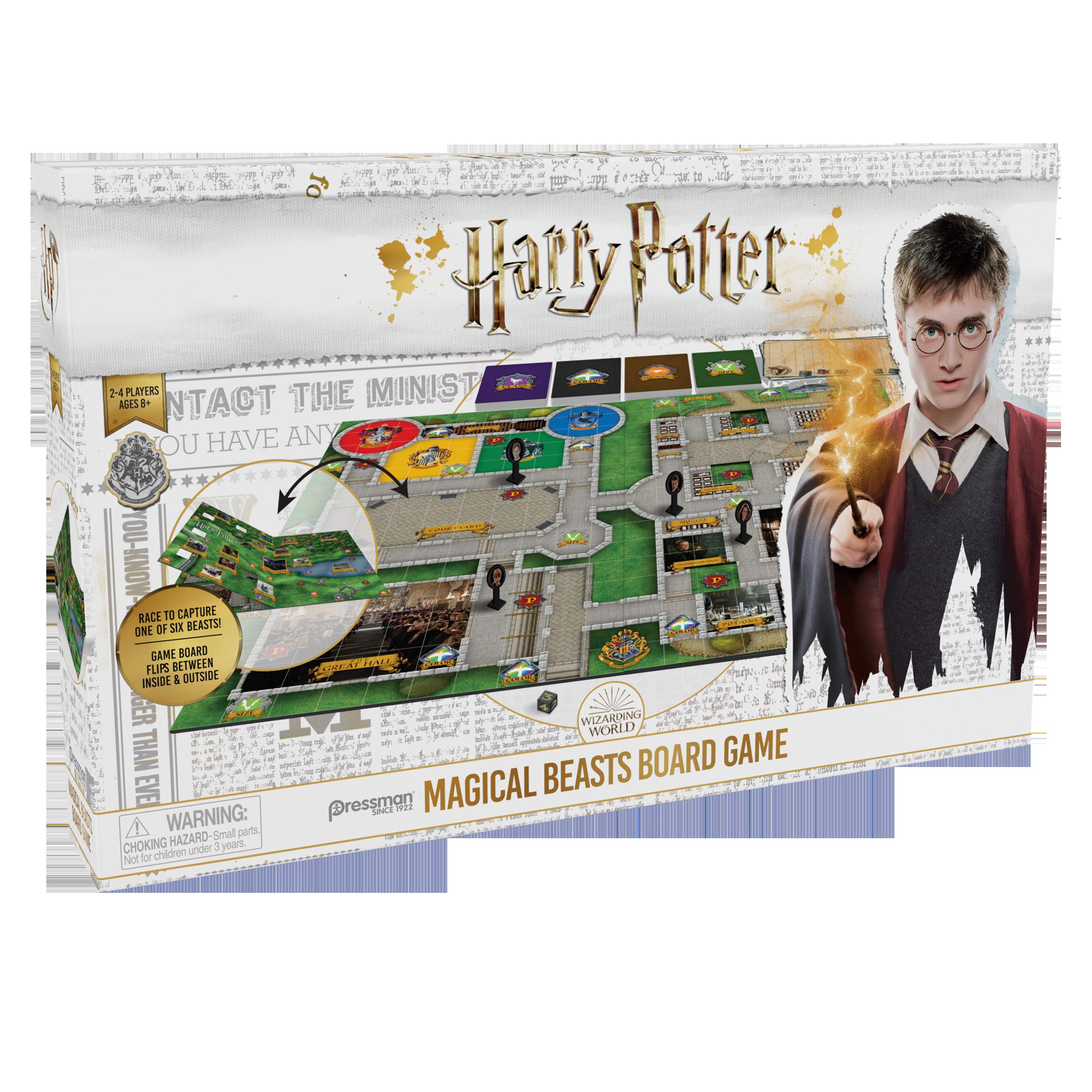 Harry Potter - Magic Beasts Brætspil