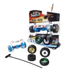 Fly Wheels - Twin Turbo Launcher - Blue
