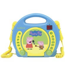 Peppa Pig - Karaoke CD Player w. Microphone (90064)