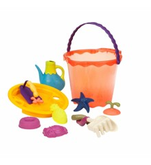 B. Toys - Shore Thing – Large Beach Playset, red (1445)