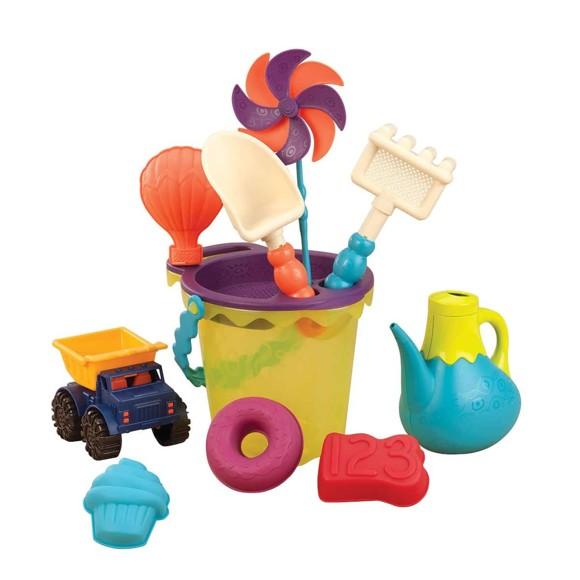 B. Toys - Ready Beach Bag, Lime (1307)
