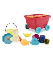 B.Toys - Travel Beach Wagon, Red (1594)