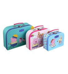 Barbo Toys - Peppa Pig Suitcases - 3 pcs set (8995)