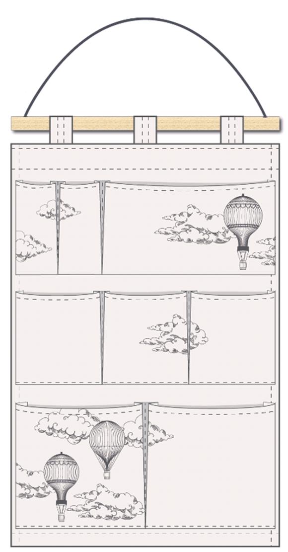 Petite Nuit - Organizer - Air Ballons (27535)