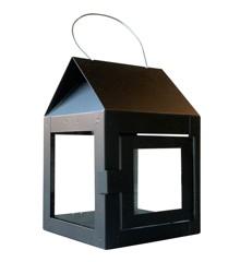 A2 Living - Hænge Lanterne Med Wire 2 stk - Sort