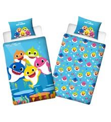 Bed Linen - Junior Size 100 x 140 cm  - Baby Shark (BSH006)