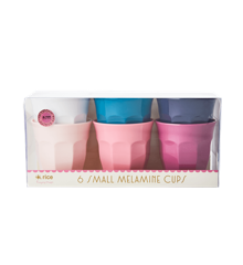 Rice - Melamine Cups 6 Pcs Small - Assorted Simply Yes