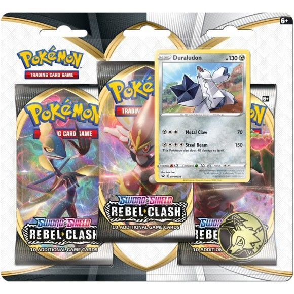 Pokemon - Sword & Shield Blister 3-Pak (Pokemon Kort) (POK80685)