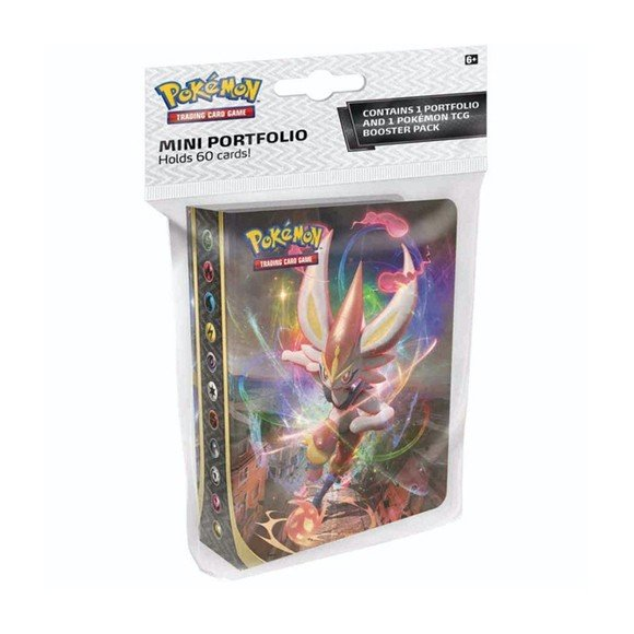 Pokemon - Sword & Shield - Mini Binder w/Booster (POK80699)