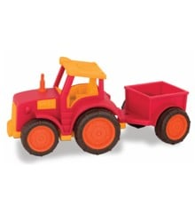 Wonder Wheels- Tractor With Trailer, Red (1018)
