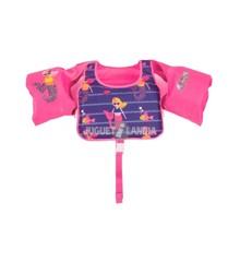 Bestway - Svømmevest - Pink/Lilla (18-30 kg)