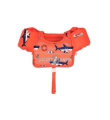 Bestway - Svømmevest - Orange (18-30 kg)