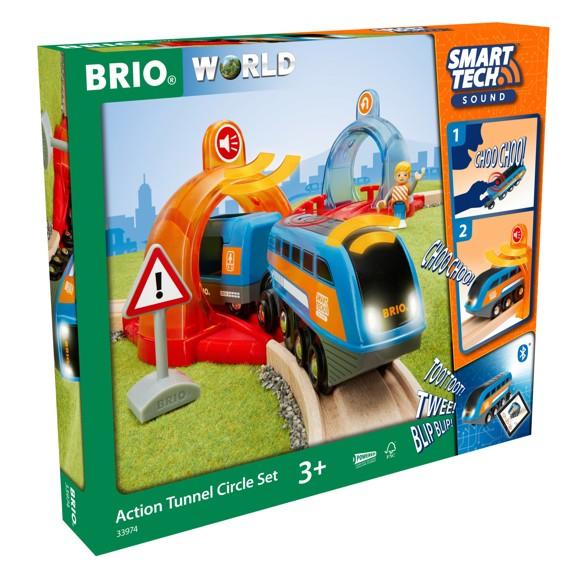 BRIO - Smart Tech Sound Action Tunnel Circleset (33974)
