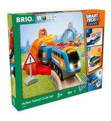 BRIO - Smart Tech Tunnel cirkelsæt (4-33974)