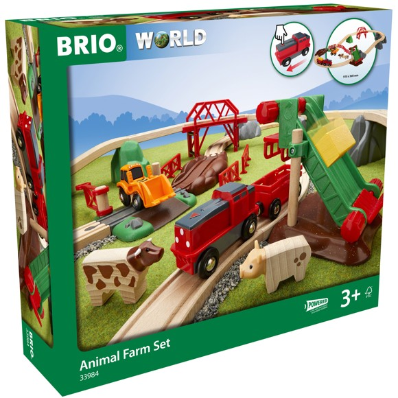BRIO - Railway Farm Set  (33984)