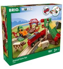 BRIO - Togbane Bondegårdssæt  (33984)
