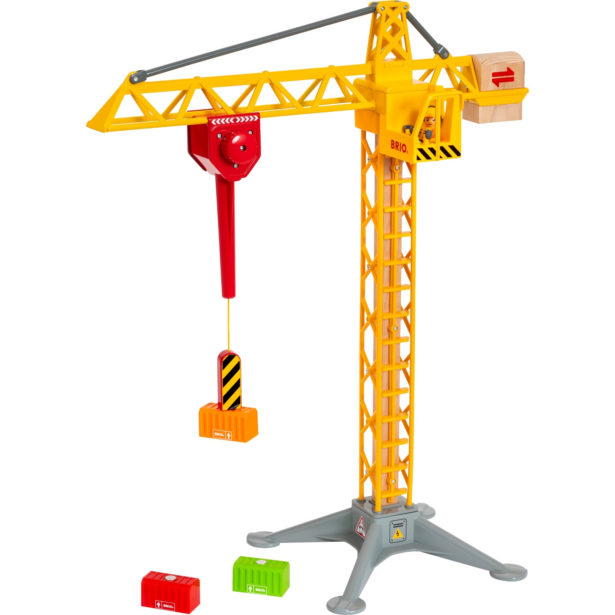 BRIO - Construction Crane with Lights (33935)