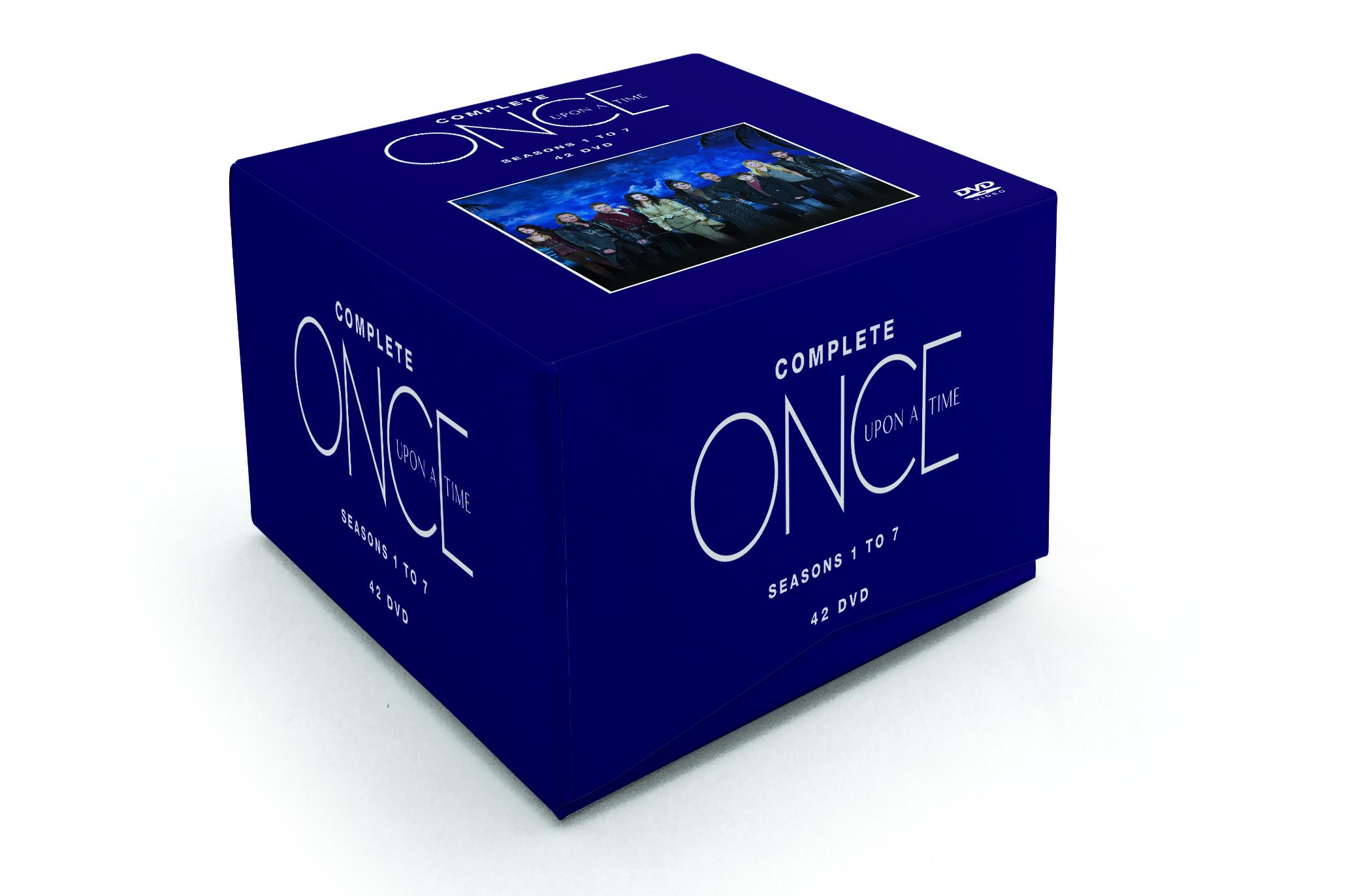 Once Upon A Time Season 1-7 - Dvd