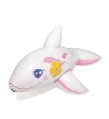 Bestway - Whale Ride-on - Pink