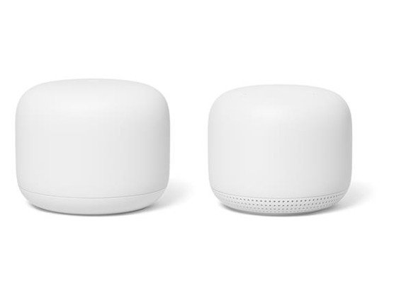 Google - Nest Wifi Router+Point Bundle