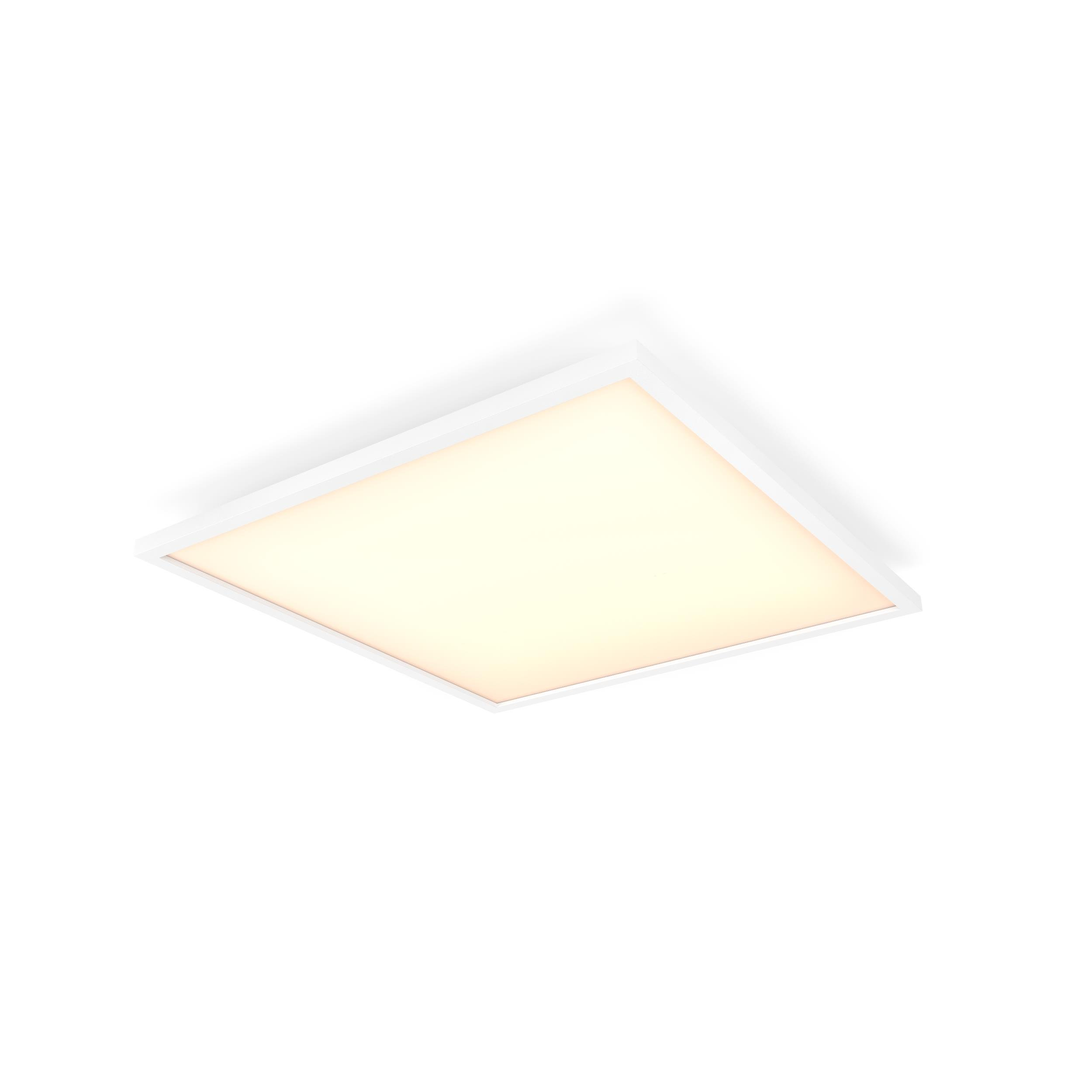 Philips Hue - Aurelle Hue Panel SQ 46.5W ceiling lamp - White Ambiance Bluetooth Dimmer Included