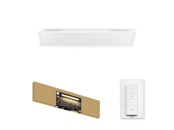 Philips Hue - Aurelle Panel Ceiling Lamp - White Ambiance Bluetooth - E