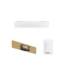 Philips Hue - Rechteckige Aurelle Panelleuchte - White Ambiance - Bluetooth