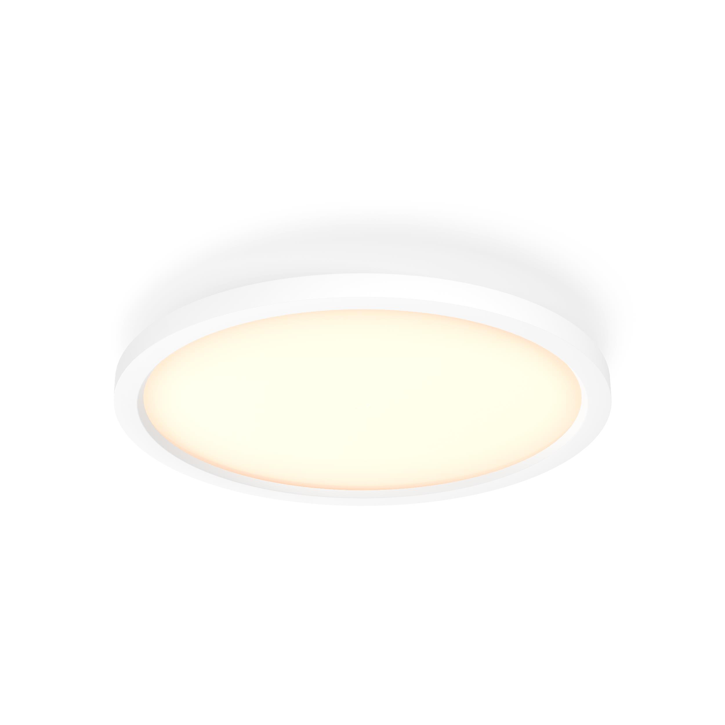 Philips Hue - Aurelle Hue Panel RD 24.5W ceiling lamp - White Ambiance - Bluetooth Dimmer Included