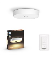 Philips Hue - Fair Hue ceiling lamp white 1x39W 24V - White Ambiance - Bluetooth Included Dimmer