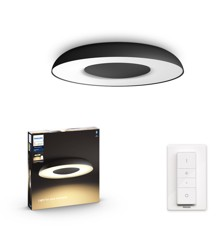 Philips Hue - Still Hue ceiling lamp black 1x32W 24V - White Ambiance