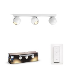 Philips Hue - BUCKRAM bar/tube white 3x5.5W 230V - White Ambiance - Bluetooth Dimmer Included