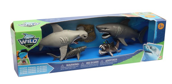 Wild Quest - Ocean Animal Playset (549005)