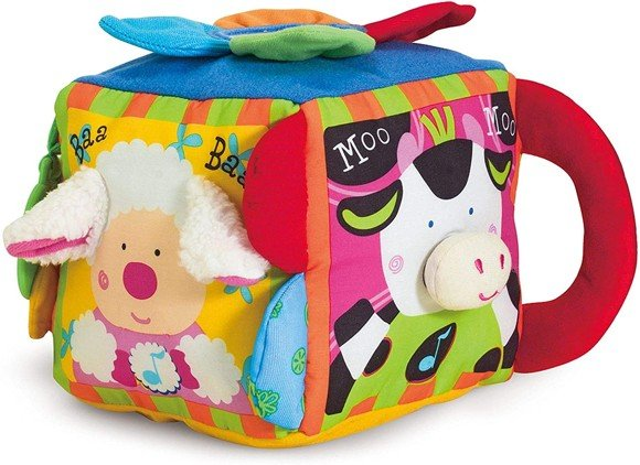 Melissa & Doug - K's Kids - Musical Farmyard Cube (19177)