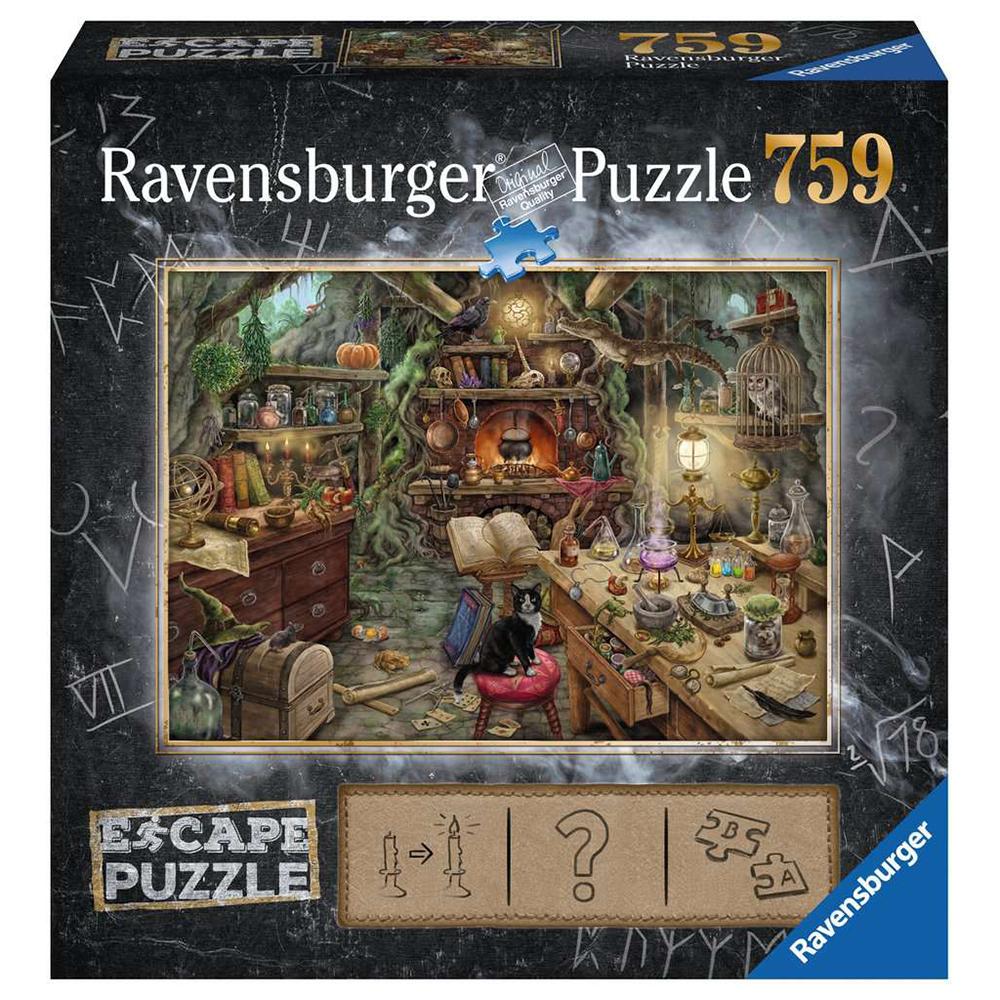 Ravensburger - ESCAPE Puzzle 3 - Kitchen of a witch, 759 pc