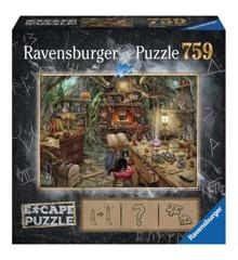 Ravensburger - Puslespil ESCAPE 3 - Heksens køkken, 759 brikker