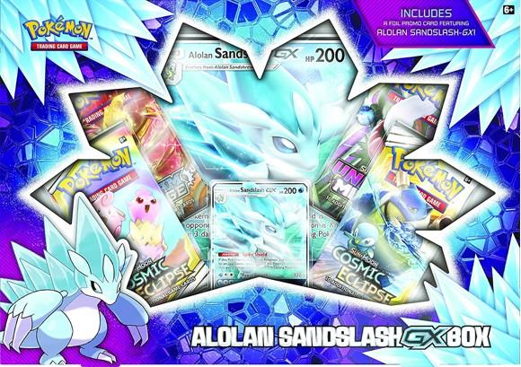 Pokemon - Alolan Sandslash GX Box (POK80478) (Pokemon Trading Cards)