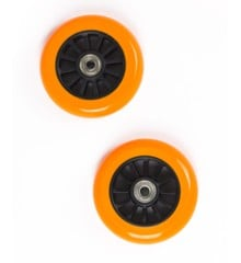 My Hood - 2 Wheels for Trick Scooters 100 mm - Orange/Black (505083)