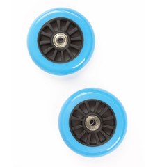 My Hood - 2 Wheels for Trick Scooters 100 mm - Turquoise/Black (505085)