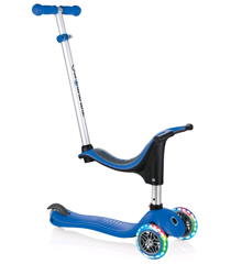 GLOBBER - Evo 4-in-1 Scooter with Lights - Blue (452-100-2 S)