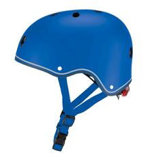 GLOBBER - Hjelm med Lys (48-53 cm) - Blå
