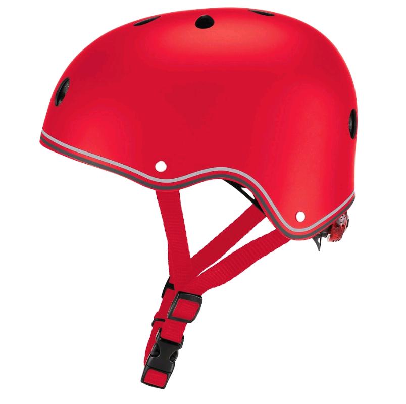 GLOBBER - Helmet Primo Lights (48-53 cm) - Red (505-102)