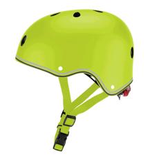 GLOBBER - Hjelm med Lys (48-53 cm) - Grøn